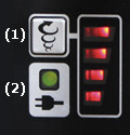 Image of the push-button, constant speed control with variable speed
