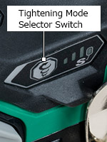 Tightening Mode Selector Switch