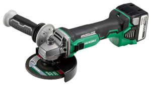 14.4V Cordless Disc Grinders with Brushless Motors G14DBL