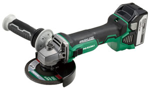 18V Cordless Disc Grinders with Brushless Motors G18DBL