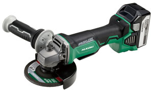 18V Cordless Disc Grinder with Brushless Motor G18DBAL with Paddle Switch