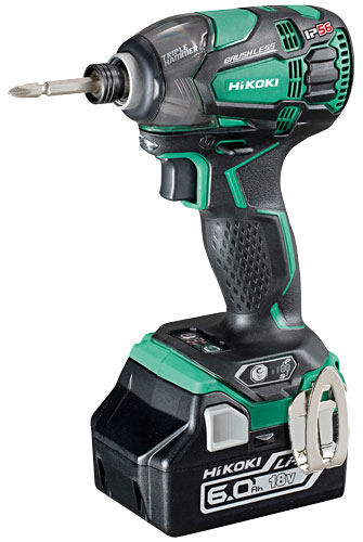 18V Cordless Impact Driver with Brushless Motor WH18DBDL2